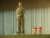 社会福祉協議会会長 赤嶺様からのお礼のことば