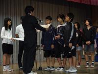 ハンドボール県予選男子選抜優勝