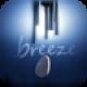 【breeze】美しい音色と背景、リアルな動きが特徴のウィンドチャイムシミュレータ。