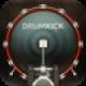 【DrumKickforiPhone】演奏用、高音質ドラムアプリ。