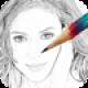 【A-Sketch】写真をスケッチ風に変換する写真加工アプリ。