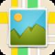 【PhotoFootprint】写真を地図上で整理できるアルバムアプリ。