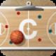 【バスケットボールコーチのクリップボード】バスケットボールの指導者用作戦ボードアプリ。