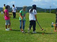他教室の入級生たちとグランドゴルフを楽しみました♪