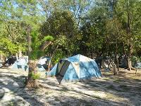 2日間の住まいとなったテント