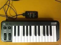 iOS機器に直結して使えるMIDI鍵盤【Mobile Keys】