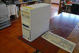 総合教育センターから持ち込んだ、小学校校務支援システムで使用するサーバー