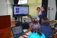 電子教科書の特徴的な機能をIT指導員が紹介。