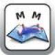 【地図計測】地図上で距離や面積を計測するアプリ。