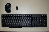 ワイヤレスキーボード+ワイヤレスマウスのセット【SANWA SUPPLY SKB-WL12SET】