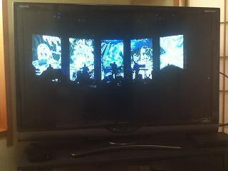 終了したライブを見てみました。最新のAppleTVではフルハイビジョンの高画質で見ることができます。