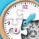 【時計くみたてパズル】時計をテーマにした楽しいパズル。