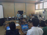講師は開発者の杉山隆太郎さん。