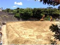 2013/7/10  建設予定の場所は更地になっています。