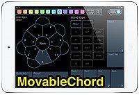 【MovableChord】ベーシックなコード演奏に特化した楽器アプリ。