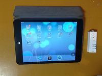 iPad mini と、ちびファイ2