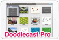 【Doodlecast Pro】書き込む課程を動画として記録できるアプリ。