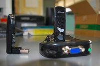 【ワイヤレス接続キット|GH-USB-AV】USBを利用してパソコンを地デジテレビに無線接続する機器。HDMIに変換する機能もあるため、高画質・高音質で接続できる。アナログ接続で古いタイプのプロジェクタにも無線接続可能。