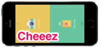 【Cheeez】遠隔でシャッターを押すことができるカメラアプリ。